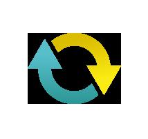 Icon Pfeile im Kreis